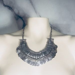 Bohemian Coin Necklace Like Free People